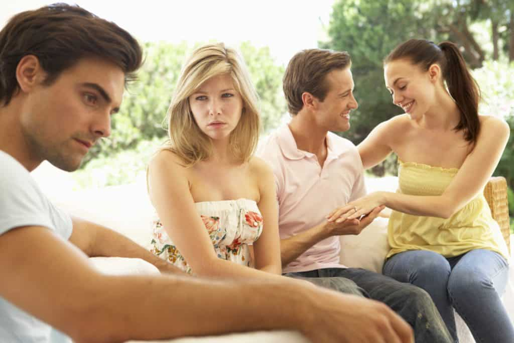 Jealousy and possessiveness in a relationship
